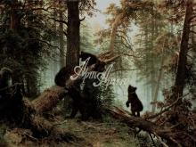 2069_И.И.Шишкин - Утро в сосновом лесу