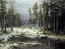 2321_И. И. Шишкин - Первый снег