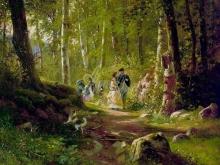2401_И.И.Шишкин - Прогулка в лесу