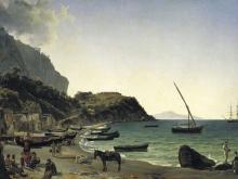 Щедрин Сильвестр Феодосьевич. Большая гавань на острове Капри