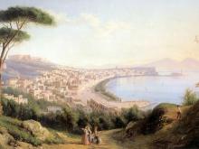 Щедрин Сильвестр Феодосьевич. Вид на Неаполь с дороги в Позилиппо