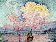 1083_80х65 Синьяк П - Розовое облако