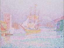 1849_70х58_П. Синьяк - Гавань в Марселе
