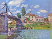 alfred-sisley-bridge-at-villeneuve-la-garenne