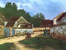 alfred-sisley-dorfstrasse-in-marlotte