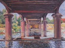 alfred-sisley-under-the-bridge-at-hampton-court