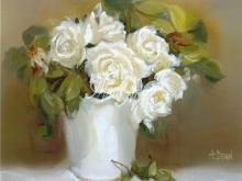 3061_102x80 А.Дерн - белые розы