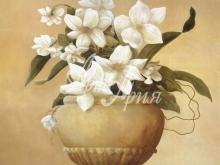 3073_120x100 Р.Холл - Ваза с садовыми цветами 1