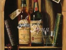 3088_55x44 Р.Кэмбелл - Ирландский виски