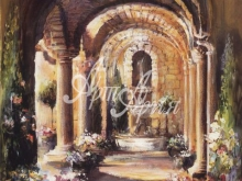 3113_40x50 М.Дюлон - Итальянская аркада
