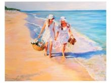 3126_74x50 С.Кузницкий - Разговор на пляже