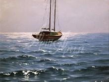 3167_40x28 А. Адамов - Яхта
