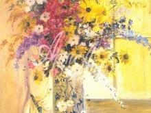3190 Э.Парсонс - Цветы на фоне окна