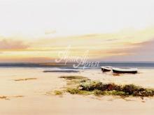 3211_70x36 Ж.Барбера - Лодки у пляжа