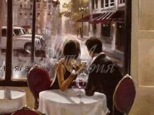 3243_40x30_Брент Хейтон - Французское кафе