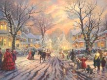 3279_100х67_Т. Кинкейд - Викторианское Рождество