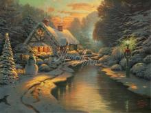 3285_100х75_Т. Кинкейд - Рождественский вечер