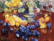 3312_46х39_Ф. Хассам - Натюрморт с фруктами