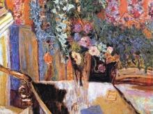 3473_50х37 Эдвард Мунк - Интерьер с цветами