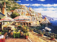 3565_80х64_Рене Биглер - Среднеземноморский пейзаж3