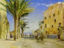3597_60х36_П. М. Мёнстед - Улица в Алжире. 1889г