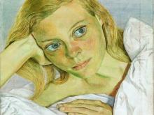 3641_70х47 Люсьен Фрейд - Девушка в постели