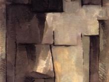 3651_50х35   Пит Мондриан - Nu Naked,  1912