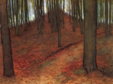 3660_50х39 Пит Мондриан - Буковый лес