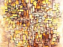 3681_60х55 Пит Мондриан -Composition VII, 1913