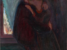 3710_100х82 Эдвард Мунк -Поцелуй