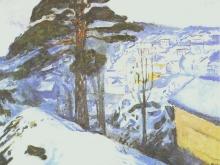 3736_40х39_Эдвард Мунк - hiver krager, 1912
