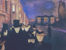 3738_50х34 Эдвард Мунк - soire sur lavenue karl johann, 1892