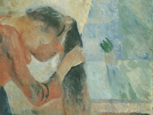 3775_50х38_Эдвард Мунк - jeune fille sa coiffure, 1892