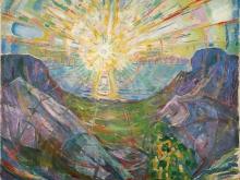 3793_60х48 Эдвард Мунк - Солнце