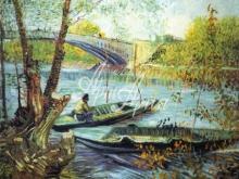 1054_90х76 Ван Гог - Рыбак в лодке