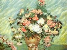 1093_62x50 Ван Гог - Ваза с Розами