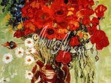1100_70х54 В.Ван Гог - Ваза с маргаритками