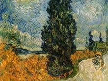 1116_90х71 Ван Гог - Дорога с кипарисами и звездами