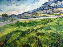 1117_90х70 Ван Гог - Поле с зеленой пшеницей