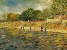 1126_100х69 Ван Гог - Набережная Сены