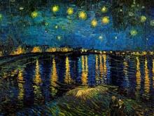 1162_70x58 Ван Гог - Звездная ночь над Роной