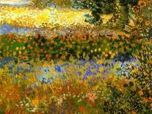 1172_60х47 Ван Гог - Сад с цветами
