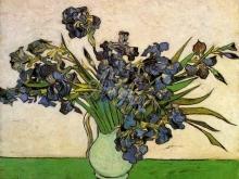 1699_65х51_В.Ван Гог_Ваза с ирисами