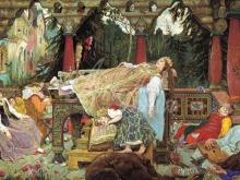 2543_80х37_В.М. Васнецов - Спящая царевна