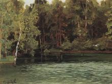 Васнецов Аполлинарий Михайлович. Царский пруд. Демьяново. 1903-1917