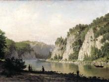 4156_75х35_П.П. Верещагин  - Камень Писанный на реке Чусовой