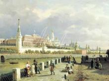 4160_85х41_П.П. Верещагин - Вид Москвы. Кремль.1879