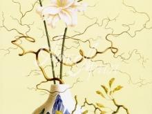 3145_80x55 Р.Веркерк - Натюрморт с китайской вазой и цветами