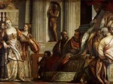 Веронезе Паоло.Есфирь перед Атаксерксом