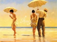 3006_100х78 Дж.Веттриано - Прогулка по пляжу